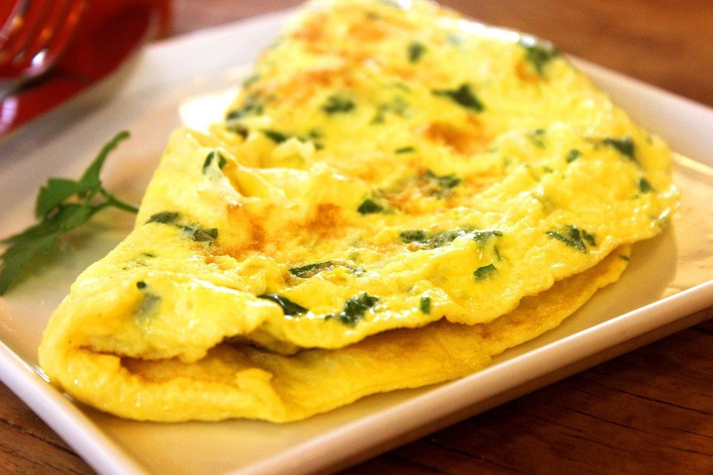 Make Omelette with Eggs